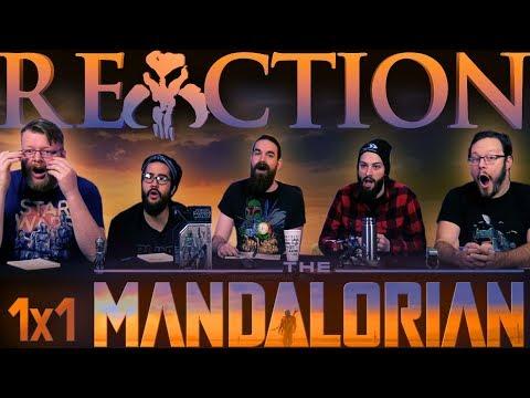 """The Mandalorian 1x1 PREMIERE REACTION!! """"Chapter 1"""""""