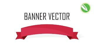 How to Make a Banner Illustration | Vector Design| Illustration