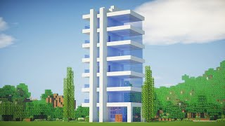 видео майнкрафт как сделать 5 этажный дом