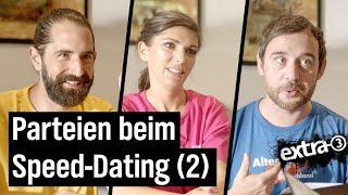 """Bundestagswahl: Das """"extra 3""""-Parteien-Speed-Dating (2)"""