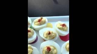 Deviled Egg Bumper Cars
