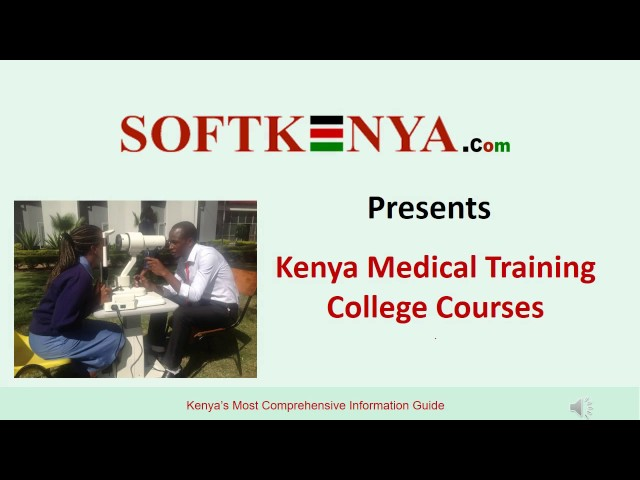 Nursing courses in Kenya and their admission requirements ▷ Tuko co ke