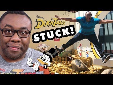 DUCKTALES - I Got STUCK in SCROOGE'S MONEY BIN