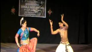 International Dance Festival Cuttack Maha Utsav-Ahe Nela Saila by Samiran and Sarmilee Sengupta