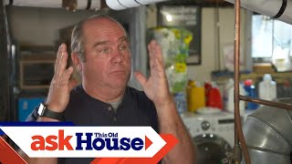 How to Install an Indirect Water Heater on a Boiler | Ask This Old House
