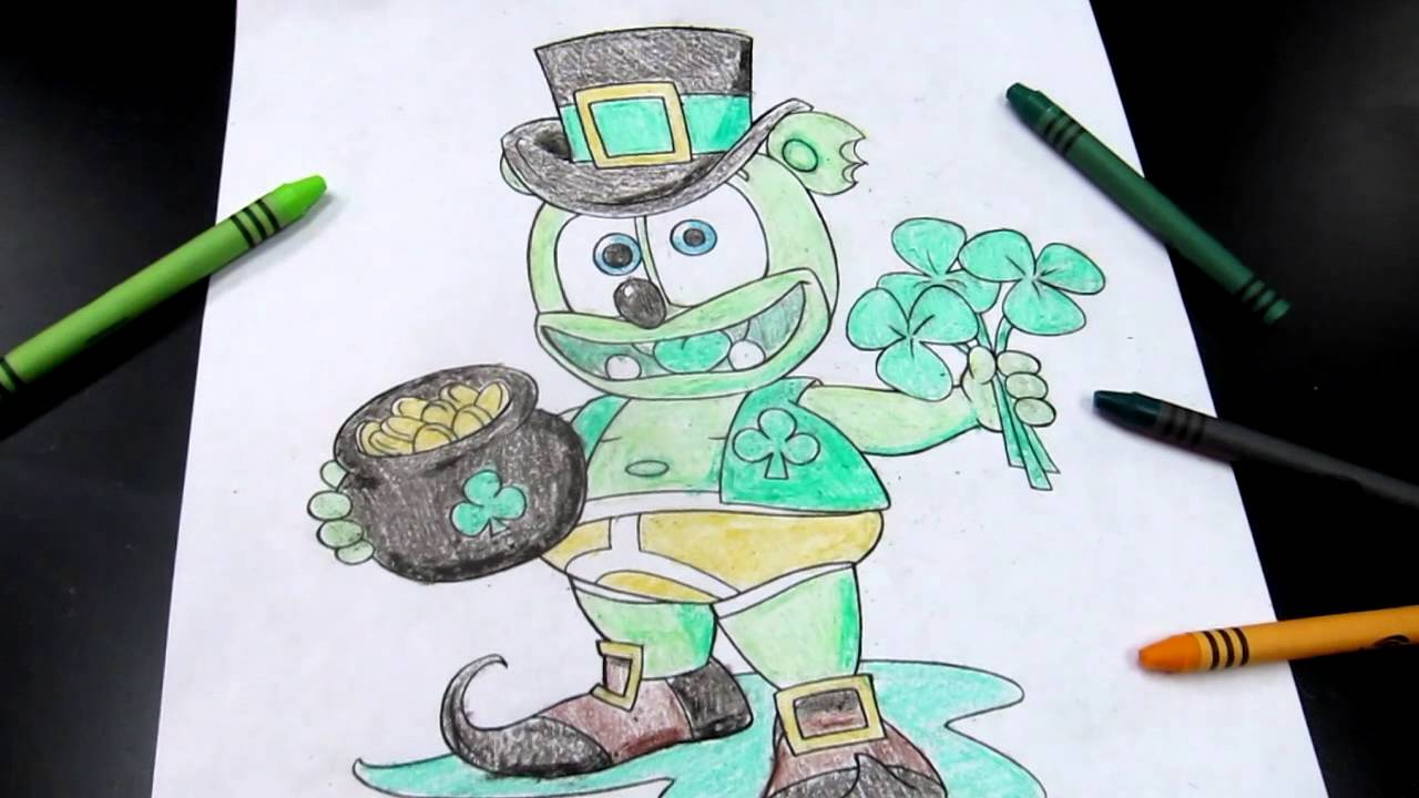 Gummy Bear Coloring Pages. Perfect Ruby Gloom Coloring Pages Self ...
