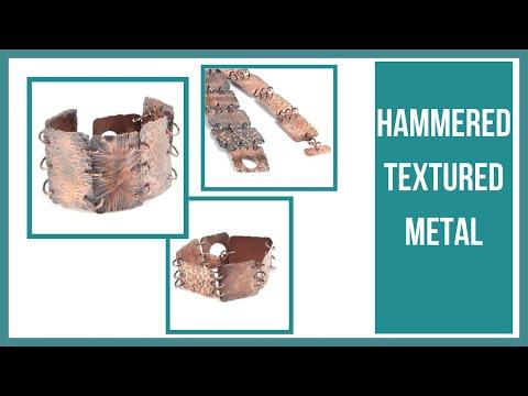 Hammered Textured Metal - Beaducation.com
