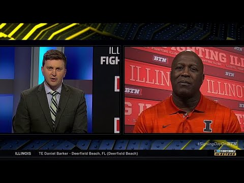 Lovie Smith BTN Signing Day Interview