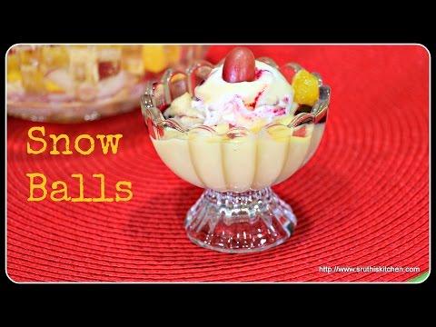 Snow Balls - Easy Make Ahead Dessert Recipe