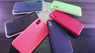 Silicone Soft Rubber Cases For Samsung NOTE 8| NOTE 9 and iPHONE X| 6X| 6X PLUS - Short Teaser