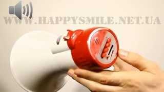 Ручной рупорный мегафон от магазина техники Happy Smile(Модель предназначена для работников спасательных служб, МВД, при проведении разнообразных рекламных акций..., 2015-03-20T12:20:08.000Z)