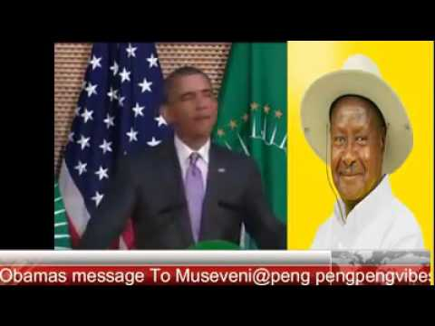 Obama's Message To Museveni - Original Copyright belongs to US Department of State