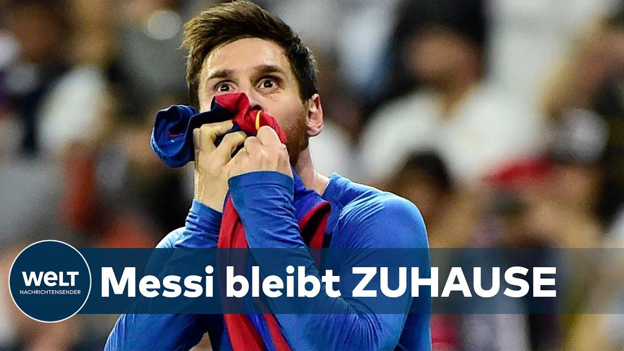 """CLUB MEINES LEBENS"": Messi total loyal - Er würde niemals FC Barcelona verklagen"