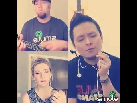 Somewhere Over The Rainbow Ukulele Cover (USA, Indonesia, England, Canada) (Smule Sing! Karaoke)
