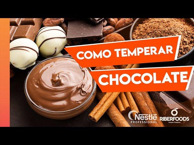 Como temperar o Chocolate Nestlé!!
