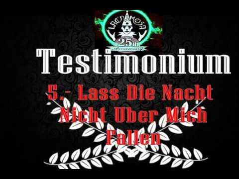 Lacrimosa 5.-  Lass Die Nacht Nicht Uber Mich Fallen TESTIMONIUM