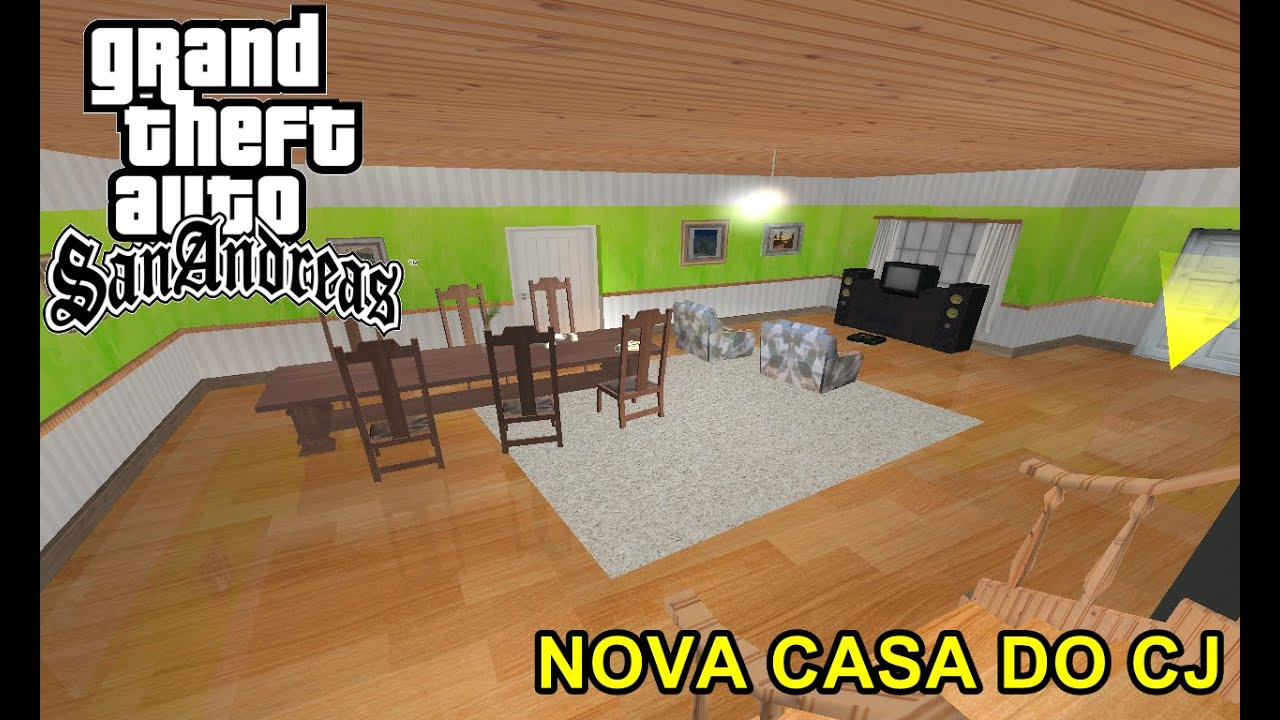 Gta sa nova casa do cj tutorial download youtube for Casa moderna gta sa