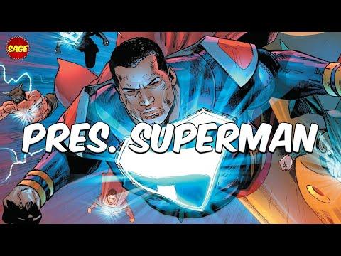 Who is DC Comics' President Superman? Kryptonian