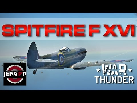War Thunder Realistic: Spitfire F. Mk XVI [With Long5hot]