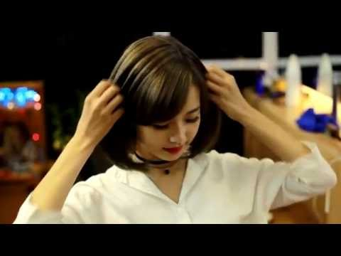 HƯỚNG DẪN DUỖI TÓC CỤP ÔM SÁT KHUÔN MẶT   |    INSTRUCTIONS ponytail hugging FACE CUP