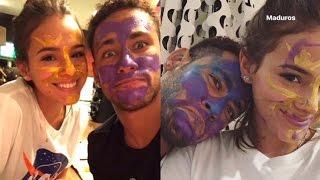 Baixar Neymar e Bruna Marquezine se pintam