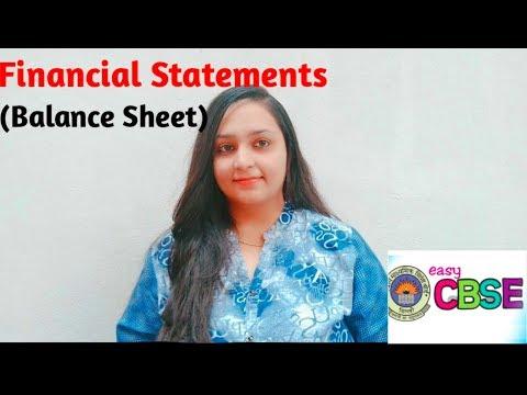 Balance sheet (Financial Satements)