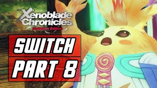 Xenoblade Chronicles: Definitive Edition - Gameplay Walkthrough Part 8: Heropon Riki [SWITCH]