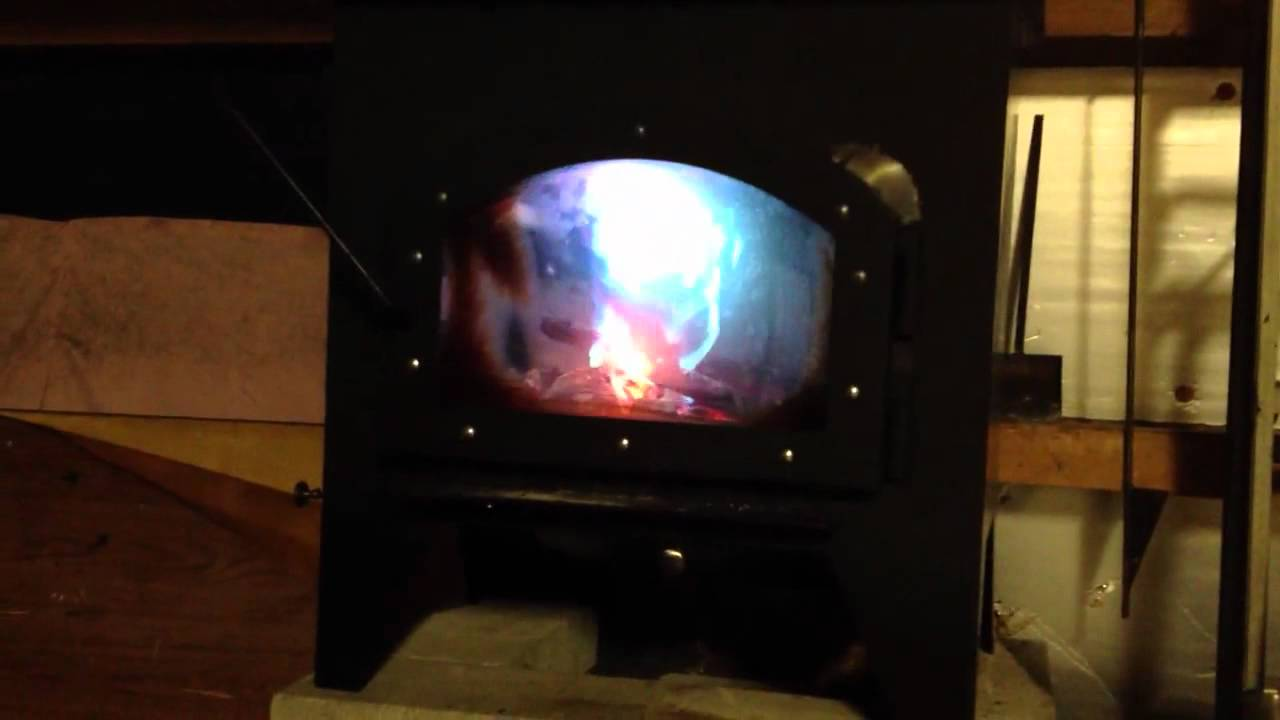 Homemade Wood Burner Secondary Burn Tubes 2 Youtube