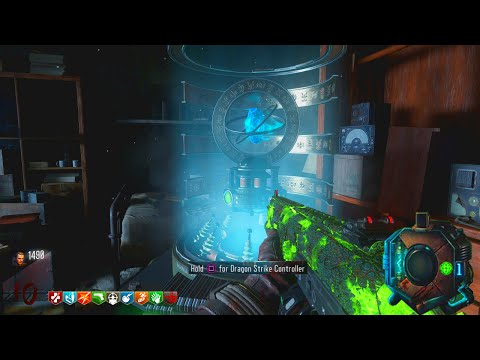 "BLACK OPS 3 ZOMBIES ""GOROD KROVI"" UPGRADED DRAGON STRIKE CONTROLLER 2.0 EASTER EGG! (BO3 Zombies)"