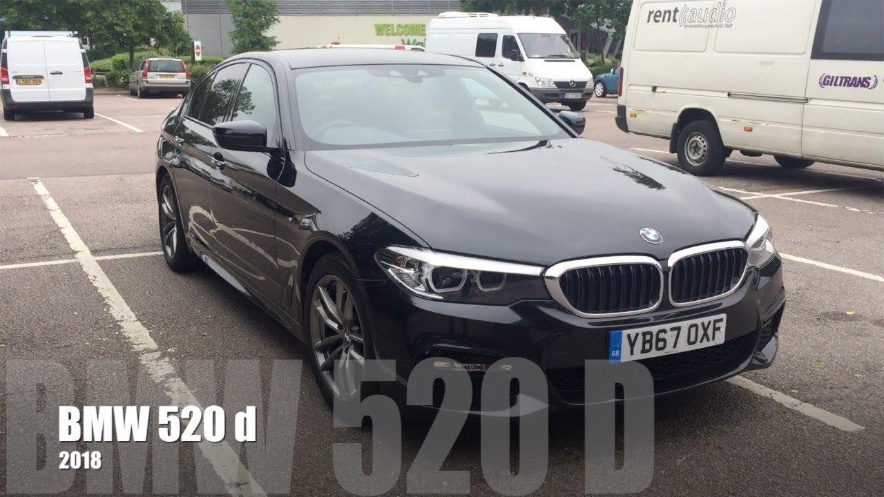 BMW 520d z roku 2018 - Bardzo szybki opis super fury!