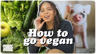 HOW TO GO VEGAN (in 5 simple steps).