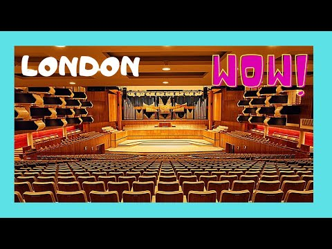 Inside the spectacular Royal Festival Hall, London