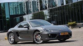 Porsche Cayman S 2013 test