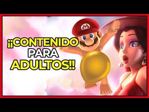 Aparece CONTENIDO para ADULTOS en SUPER MARIO ODYSSEY para Nintendo Switch