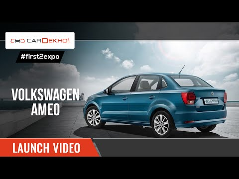 2016 Volkswagen Ameo | Unveiling Video | CarDekho.com