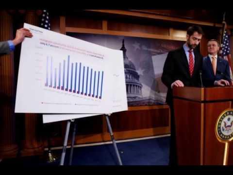 US Senators introduce legislation to bring down legal immigrants by half.