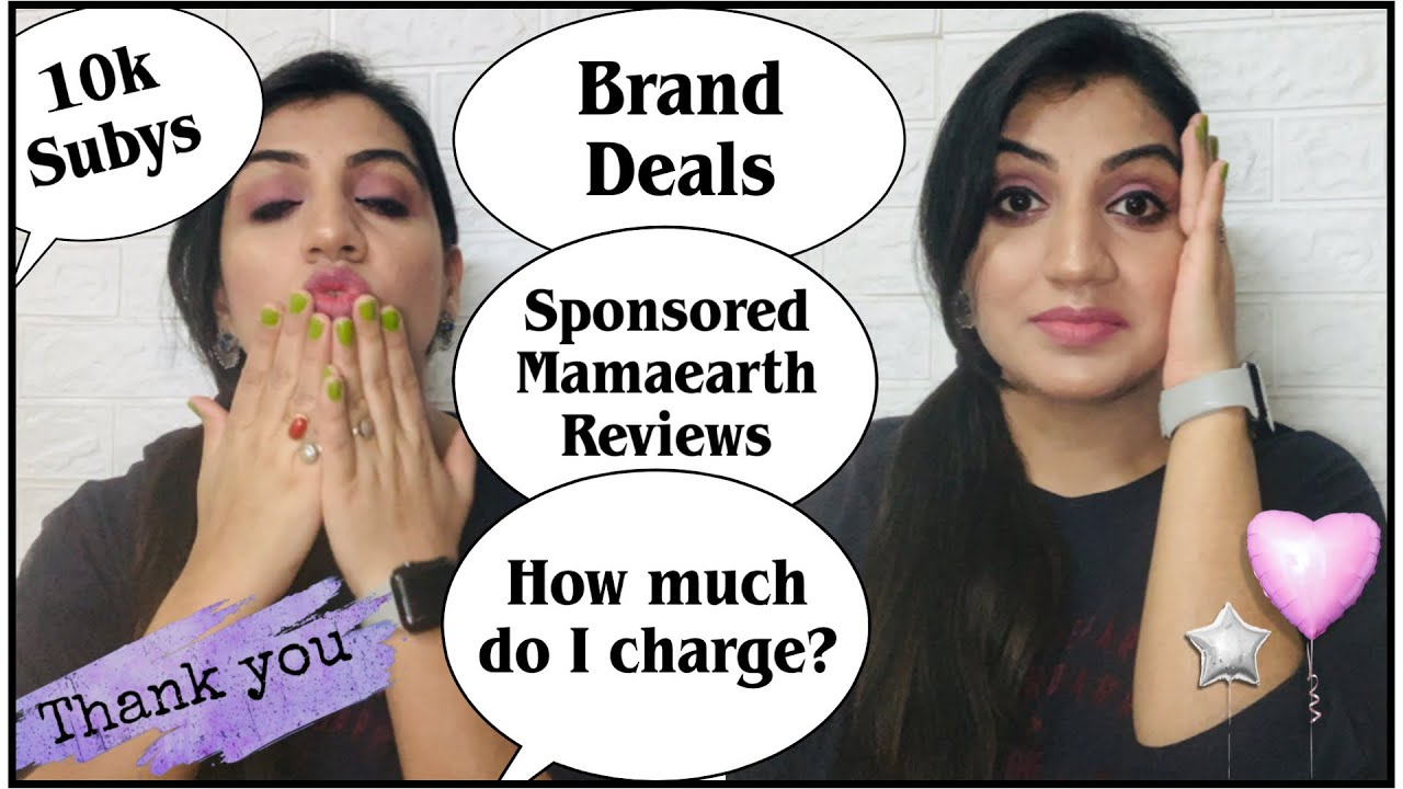 THANK YOU for 10K❤️ Are My Mamaearth Videos Sponsored? Brand Deals| Barter & Paid Collaborations
