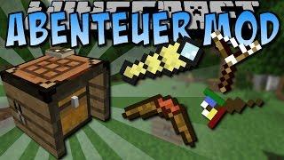 Minecraft ABENTEUER MOD (Boomerang, Fernglas und vieles mehr!) [Deutsch]