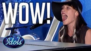 BEAUTIFUL AUDITION Ain't No Sunshine Bill Withers Cover On Piano! American Idol | Idols Global