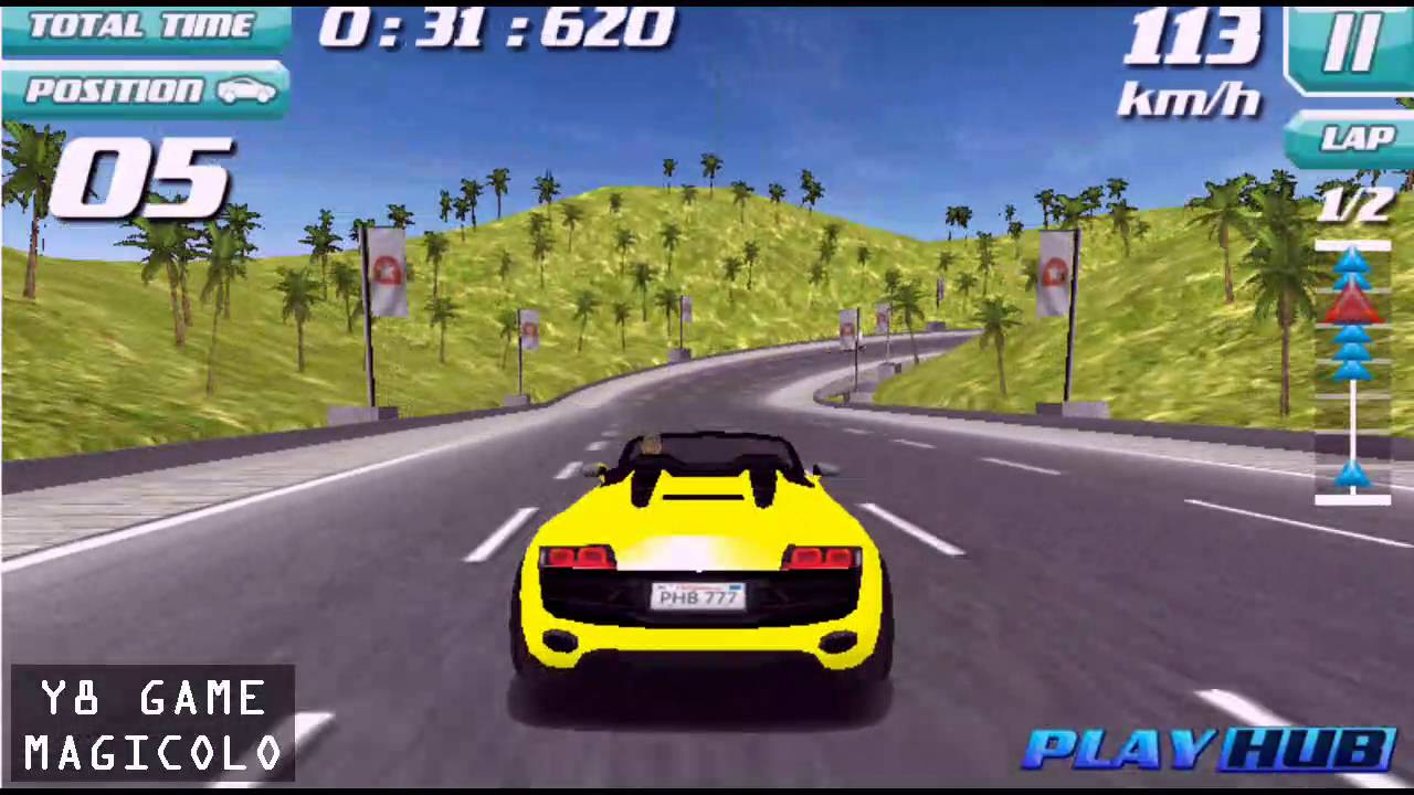Y8 Games To Play Drift Rush 3d Free Driving Game 2016 Youtube