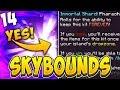 PHARAOH IMMORTAL SHARD!? | SKYBOUNDS #14 (Minecraft Skyblock)