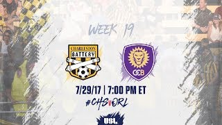 Charleston Battery vs Orlando City II full match