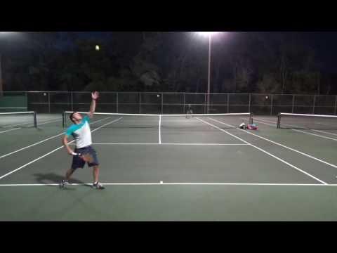 Men's 4.5 Tennis Aggressive vs. Aggressive Players Connor Moelmann
