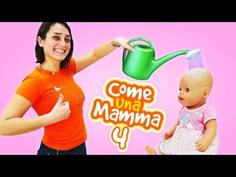 Giochi con le bambole Nenuco. Video con i giocattoli. Giochi per bambini