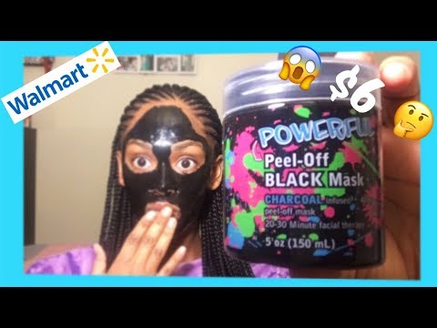 WALMART FACE MASK REVIEW/FIRST IMPRESSION
