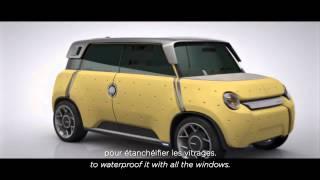 ME.WE concepto coche eléctrico para toyota