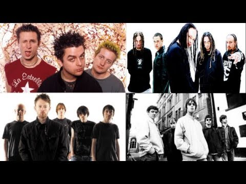 Top 100 Rock Songs Of The 1990s