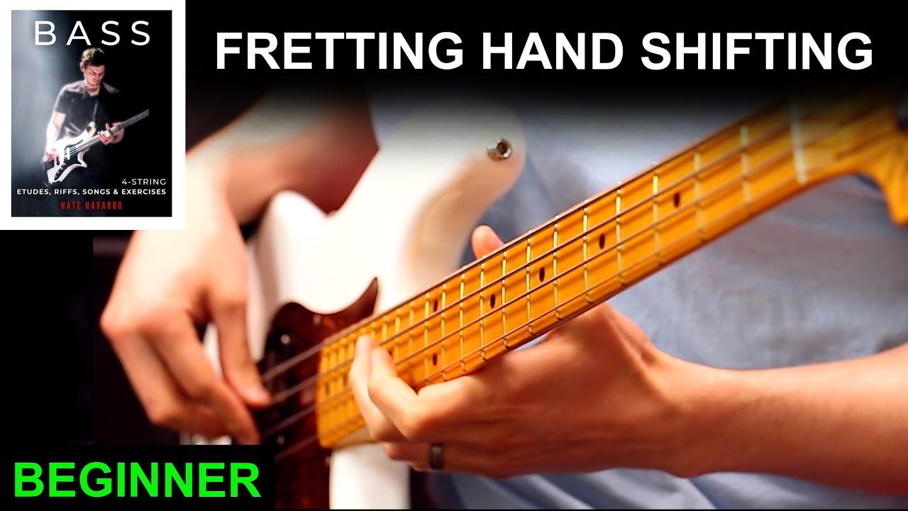 Fretting Hand Shifting   Bass Book Beginner Ex: 3