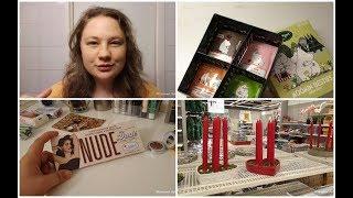 ВЛОГ Убила свои волосы Рассматриваю рождественскую коллекцию в магазине Пустые баночки Декоративка
