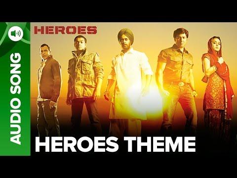 Heroes (Theme Song) | Salman Khan, Sunny Deol, Bobby Deol & Preity Zinta